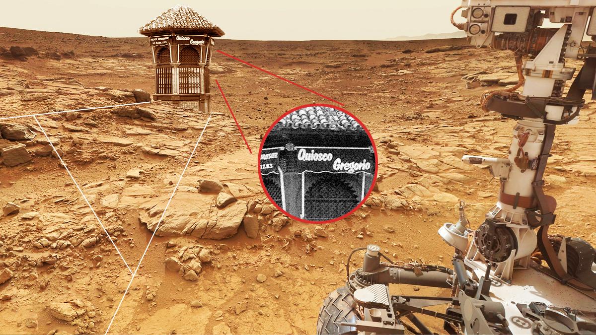 Fotofrafía de la Nasa que corrobora el insólito descubrimiento.